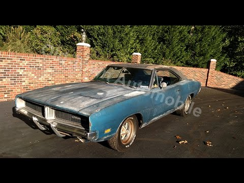 1969 Dodge Charger - BARN FIND - for sale Old Town Automobile in Maryland