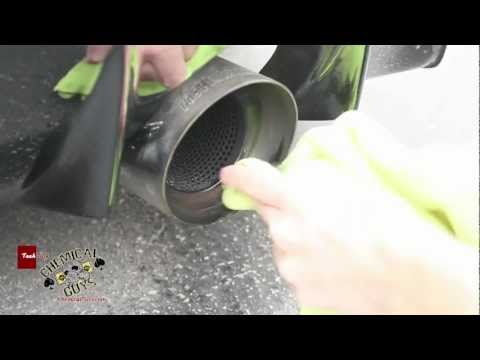 How To Polish Chrome & Stainless Steel Exhaust - Metal Shine Chemical Guys