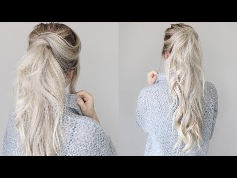 How To: Messy Voluminous Ponytail Tutorial
