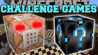 Minecraft: COMMAND BLOCK CHALLENGE GAMES - Lucky Block Mod - Modded Mini-Game