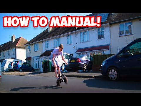 How To: Street Edition - Manual A ROCKER MINI BMX