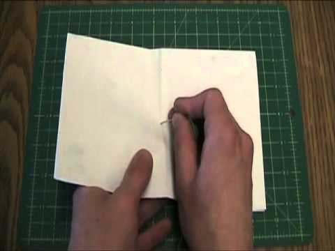 How to Make a Simple Hand Bound Book SD