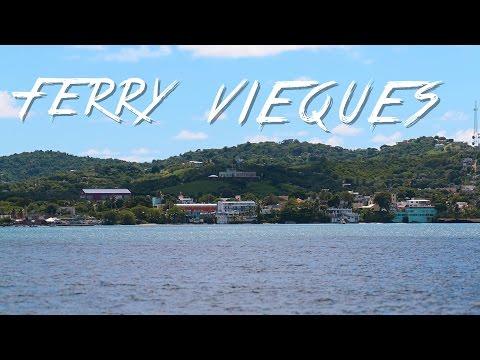 🇵🇷 FERRY & VIEQUES - EL CARIBE - PUERTO RICO #17 - 2016 - Vlog, Turismo, Documental