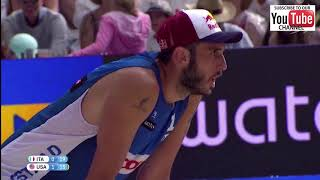 Nicolai-Lupo/ Gibb-Craab Bronze medal Match Full Match Highlights (All Points)  Gstaad 2018