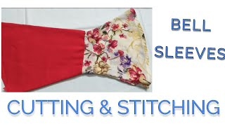 Download Bell Sleeves cuttings and stitching with useful tricks Video