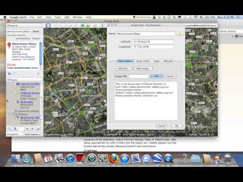 Folder and Pinning in Google Earth