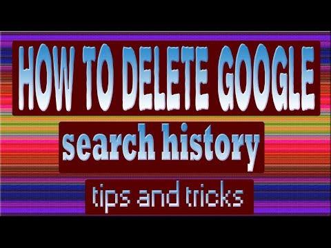How to Delete Google Search History adeel shifa tricks hindi/urdu