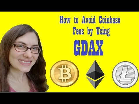 How to Buy Cryptocurrency using GDAX - Avoid Coinbase FEES!!!