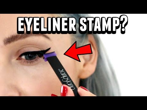 Winged Eyeliner Stamp by THE VAMP STAMP - Does It Work?