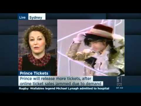Prince fans furious at Ticketek