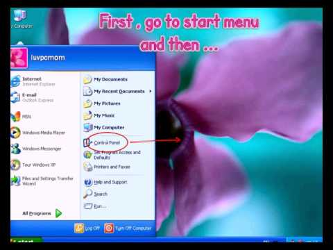How to Setup Chinese in Windows XP