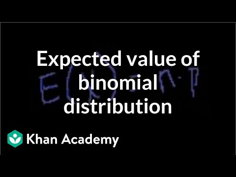 Expected value of binomial distribution | Probability and Statistics | Khan Academy