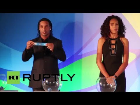 Brazil: Ronaldinho and Pellegrino make Olympics football draw
