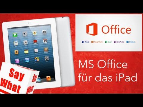Microsoft Office auf dem iPad