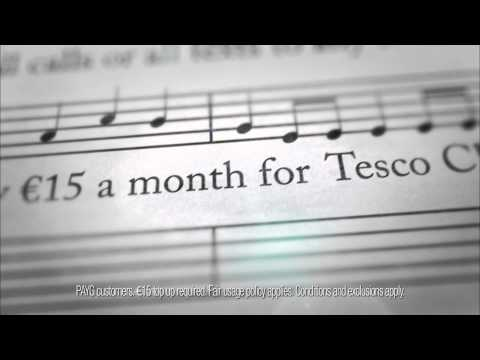 Unlimited Calls or Texts to all networks - Tesco Mobile Ireland