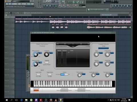 How to use Antares AutoTune in fl studio [EASY]