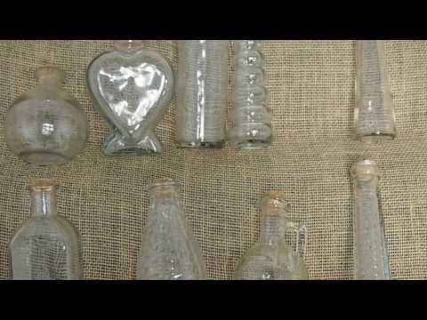 Jumbo Large Designer Glass Cork Bottles Jar Vial Phial Party Favor Gift