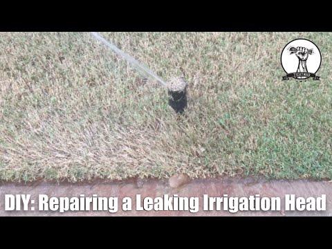 EASY Irrigation Sprinkler System Leak Repair