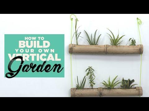 Indiatimes - How To Build Your Own Vertical Garden | DIY Vertical Garden
