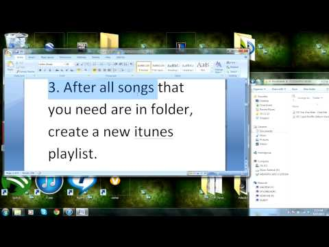 How to burn CDs off of iTunes