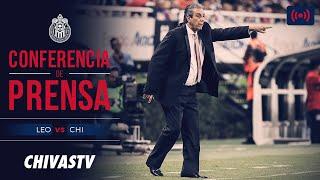 EN VIVO: Conferencia de prensa | Tomás Boy | Prepartido | León vs Chivas