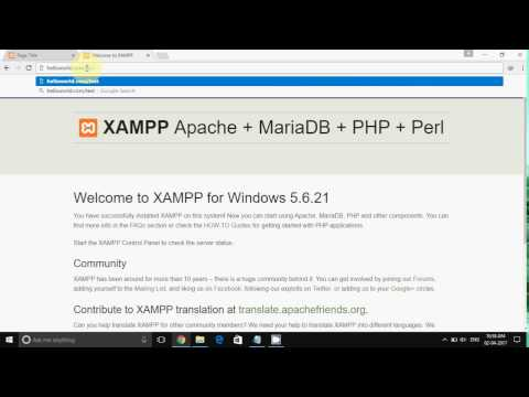 how to change localhost to domain in XAMPP