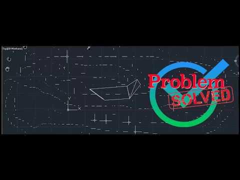 Autocad Problem, Mouse Cursor Across Problem  حل مشكله في اوتوكاد