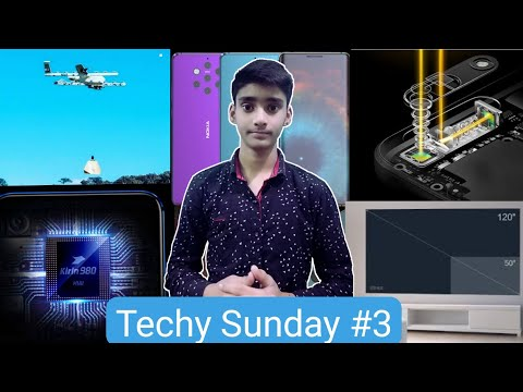 Techy Sunday #3   Nokia 9, Project Wing, Samsung Drone, Xiaomi Projector, etc.