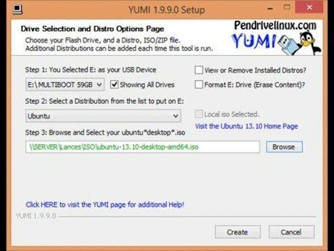 Cara Membuat Bootable Instalasi Windows Yang Mendukung MBR GPT UEFI Menggunakan YUMI