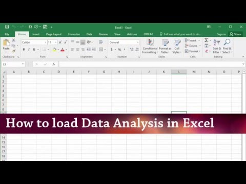 How to install Data Analysis Addin in Excel 2013-2016 (Windows)