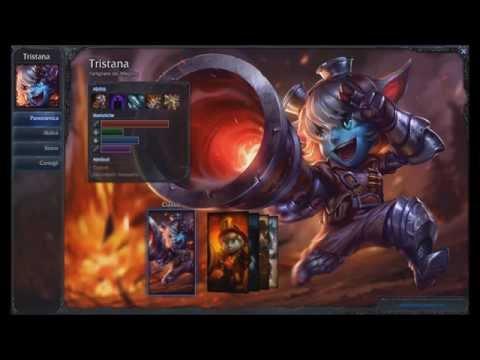Tristana new classic skin League of Legends