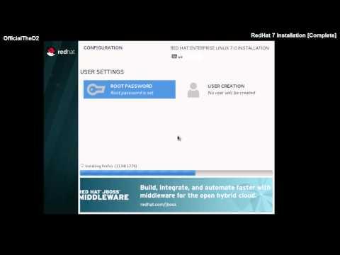 REDHAT ENTERPRISE LINUX 7 INSTALLATION - STEP BY STEP | RHEL 7 | VMware 10