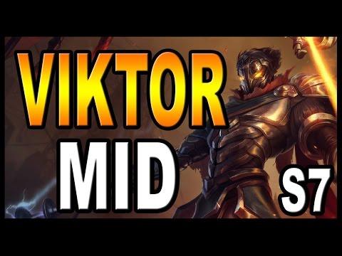 👍 VIKTOR MID S7 | (GUÍA) - Maestrias, Runas y Objetos (Build) | Vídeo Gameplay | Parche 7.3