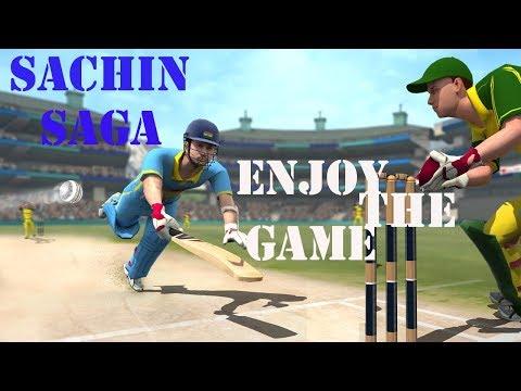 Sachin Saga Gameplay| Sachin Cricket Game