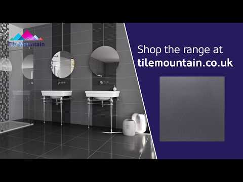 Quick Look: Trinity Lux Grey Porcelain Wall And Floor Tile (443570) - Tile Mountain