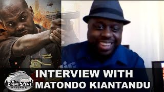 "New Movie Interview! - ""CopAholic"" - Ft. Matondo Kiantandu"