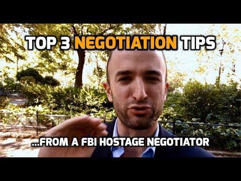 3 NEGOTIATION TIPS FROM A FORMER FBI HOSTAGE NEGOTIATOR