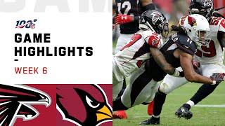 Falcons vs. Cardinals Week 6 Highlights | NFL 2019