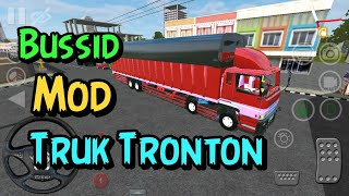 REVIEW MOD BUSSID TRUCK TRIBAL HINO 500 SELF