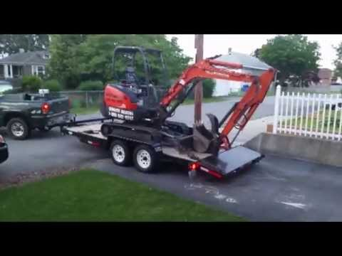 how to operate a mini excavator kubota tutorial