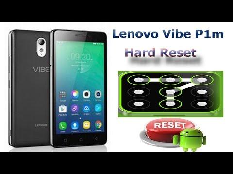 Lenovo Vibe P1m p1ma40 Hard Reset 100% EAZY