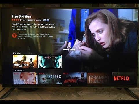 Netflix on LG WebOS Smart TV (Malaysia)