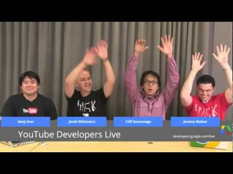 YouTube Developers Live: Gaming