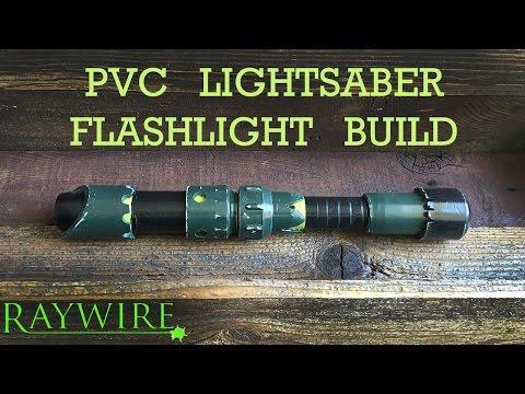 How To Make A PVC Lightsaber Flashlight