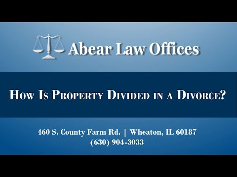 How Is Property Divided in a Divorce in Illinois?