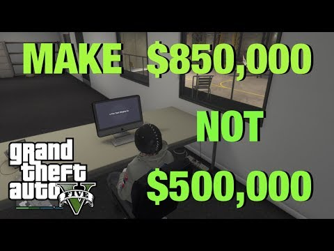 How to make the MOST MONEY using the HANGAR! (GTA 5 SMUGGLERS RUN)