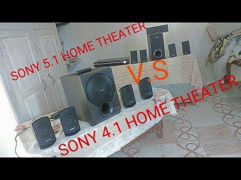 Surround sound test in home theater & sound comparison 2.1,4.1,5.1 home theater in hindi