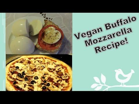 Vegan Buffalo Mozzarella Recipe! (Plus, I melt it!)