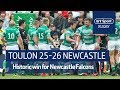 Toulon Vs Newcastle Falcons 25 26 Heineken Champions Cup Highlights