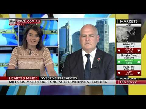Sky News Business interview with Dr Matthew Miles CEO MS Research Australia